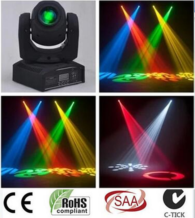 LED 30W spots Light DMX Stage Spot Moving 9/11 Channels dj 8 gobos effect stage lights Mini LED Moving Head Fast Shipping 10w disco dj lighting 10w led spot gobo moving head dmx effect stage light holiday lights