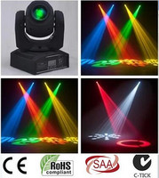 LED 30W spots Light DMX Stage Spot Moving 9/11 Channels dj 8 gobos effect stage lights Mini LED Moving Head Fast Shipping
