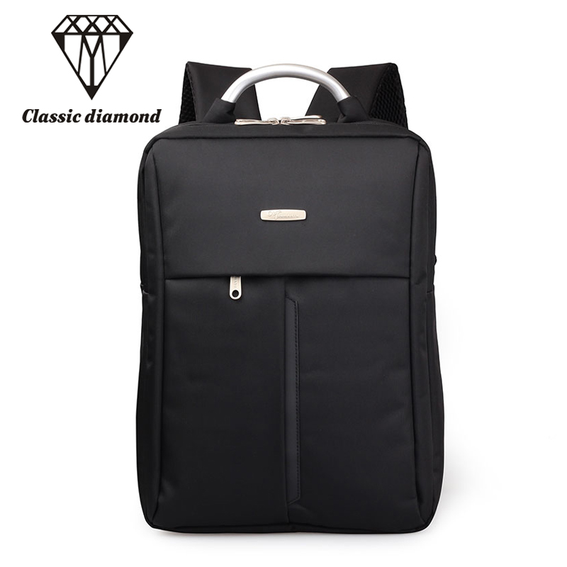 Fashion Men And Women Business Backpack Nylon Large Capacity Travel Bags High Quality Teens Student School bag 14inch Laptop Bag