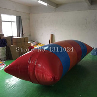 Free Shipping 6x2m Water Blob Jump Pillow Inflatable Water Game Toy 0.9mm PVC Inflatable Blobs for Sale Come With a Pump