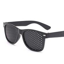 Anti-myopia Pinhole Sunglasses Corrected Visual Acuity Eye Exercise Eyesight Improve Natural Healing Vision Care Eyeglasses