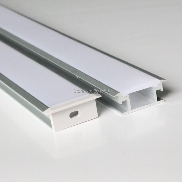 20m 20pcs A Lot 1m Per Piece Floor Aluminum Profile For Led