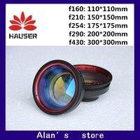 fiber Marking Machine Marking Metal Scanning Lens Laser Scanning Lens Sizes 110 * 110 150 * 150 175 * 175 250 * 250