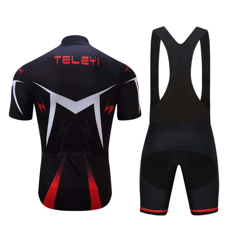 Men's 2019 Cycling Jersey BIB Shorts Set Male Bicycle kit Triathlon Suit  Racing Bike Clothes Kits MTB Maillot Clothing uniform