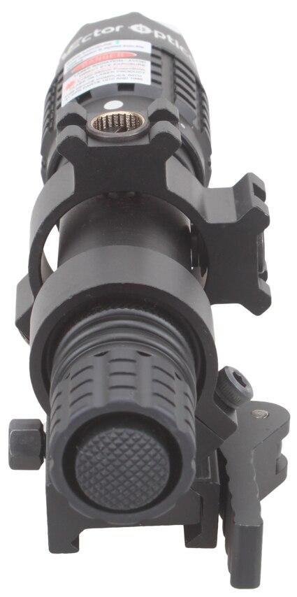 Векторная оптика Magnus Зеленый лазерный фонарик Designator регулируемый луч Фокус прицел с прицелом кольцо подходит для ночного видения