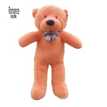 Wholesale and retails big size teddy bear plush soft toys stuffed 3 color to choose freeshipping