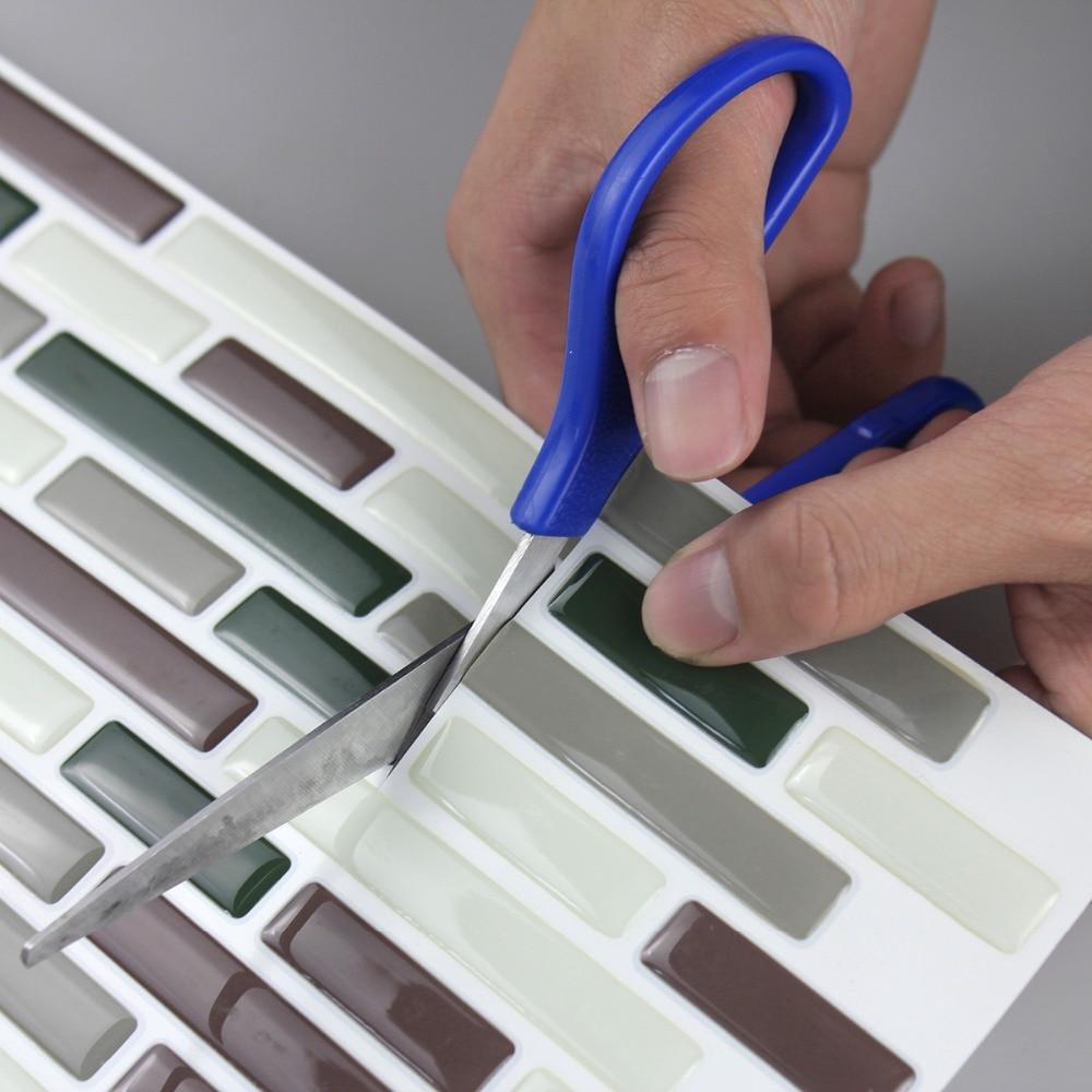 Fancy fix Vinyl Peel and Stick Decorative Backsplash Kitchen Tile ...