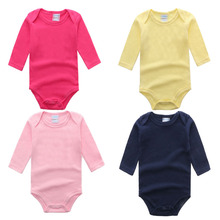 Baby Romper Newborn Baby Clothes for Cotton Long Sleeve Solid Next Baby Clothing Girls Boy Rompers Overalls Cotton Baby Costume