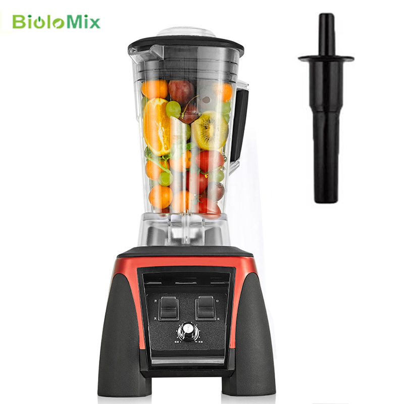 2200W Heavy Duty Commercial Professional Ice Smoothies Bar Blender Food Stand Mixer Juicer Crusher Food Processor