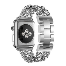 LXsmart Alloy Stainless steel band For apple watch 4/3/2/1 iwatch 42(44)mm 38(40)mm Bracelet metal wirst strap