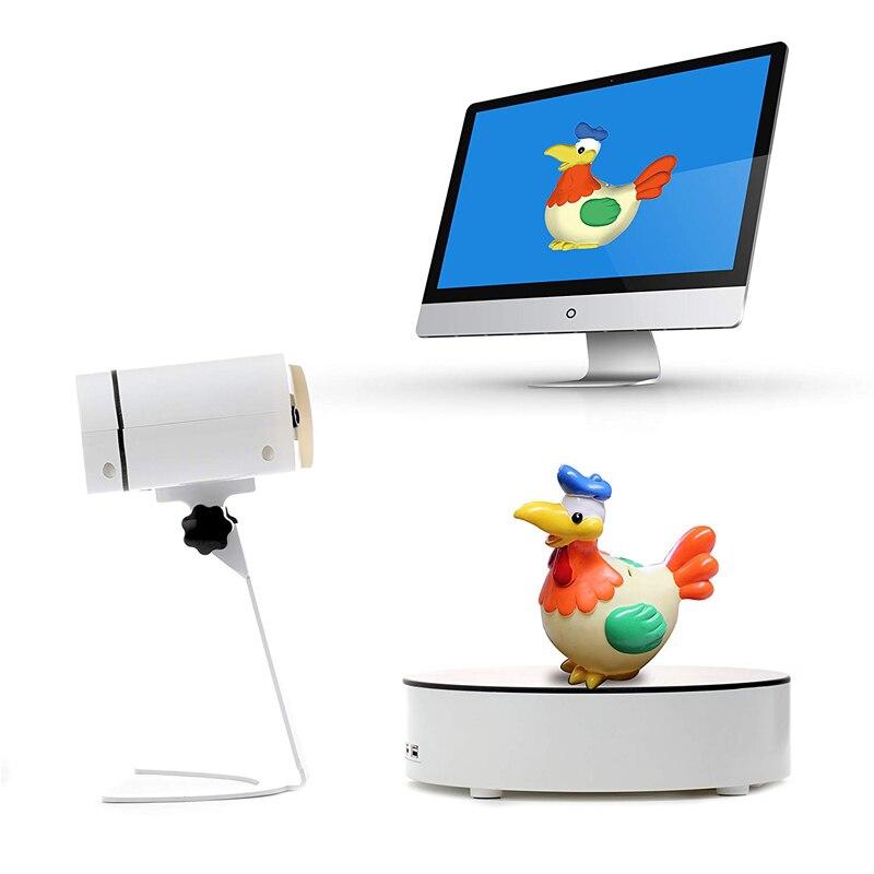 KATZE-1 Volle Farbe standard 3D Scanner, Voll-Automatische TriPro FunScan-1 mit 3 Millionen Pixel, unterstützung ein schlüssel zu 3D druck