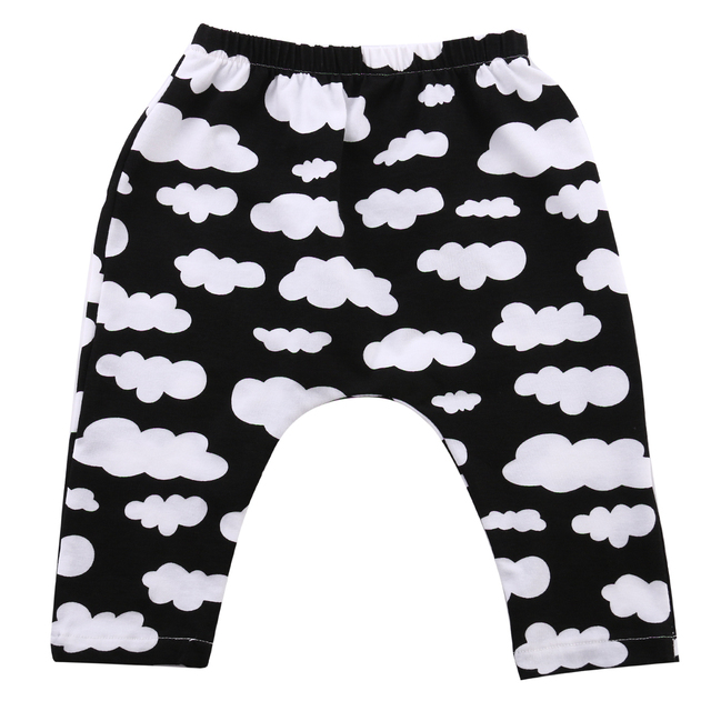 5e82c8461 Newborn Baby Boys Girls Lovely Cute Casual Top Pants Trousers Toddlers  Jogging Bottoms Sweatpants