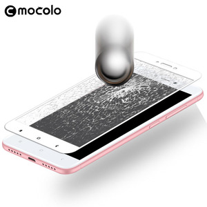 Image 2 - Für Xiaomi Redmi 4X Screen Protector Original Mocolo Volle Abdeckung 9H Gehärtetem Glas film für Redmi 4X Glas Bildschirm protector