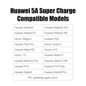 Image 5 - Magnetic Mobile Phone Chargers for Huawei p20 lite mate 20 Honor supercharge 5A Wireless fast Charging Dock Station stand