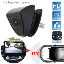DC12V 420 TVL HD Car Front View Camera Night Vision 170 Wide Degrees Logo Embedded for Toyota