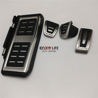 Gas Brake Foot Rest Pedal MT For VW Volkswagen Passat B8 GOLF 7 MK7 GTI AUDI