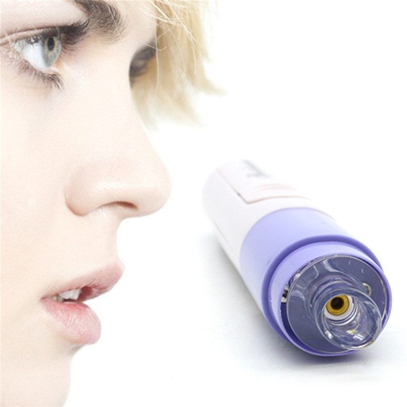Mini Handheld Facial Pore Blackhead Vacuum Suction Blackhead Remover Face Pore Cleansing Device Acne Remover Cleaner Machine kingdom cares electric vacuum blackhead remover cleaner pores deep cleansing extractor machine soft blu ray spotkd 802