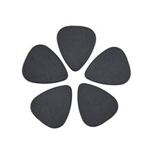 Lots of 100pcs Black Ultra Heavy 1.5mm Gauge Delrin Guitar Bass Picks Plectrums