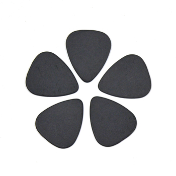 Lots of 100pcs Black Ultra Heavy 1.5mm Gauge Delrin Guitar Bass Picks Plectrums