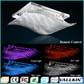LED Smooth Sailing Crystal Ceiling Chandeliers Lamps LED Ceiling Lamp Living Room Bedroom  Pendant Lamp VALLKIN