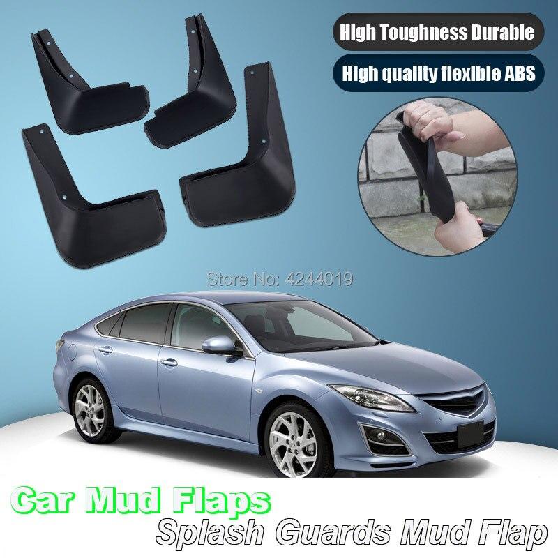 For Mazda 6 Mudflaps Splash Guards Mud Flap Front Rear Mudguards Fender|Mudguards| |  - title=