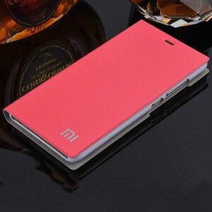 Image 3 - הגעה חדשה לxiaomi Redmi 3 /3S/3X, יוקרה Slim סגנון Flip עור מקרה עבור Xiaomi Redmi 3s Redmi 3x Redmi 3 כיסוי תיק