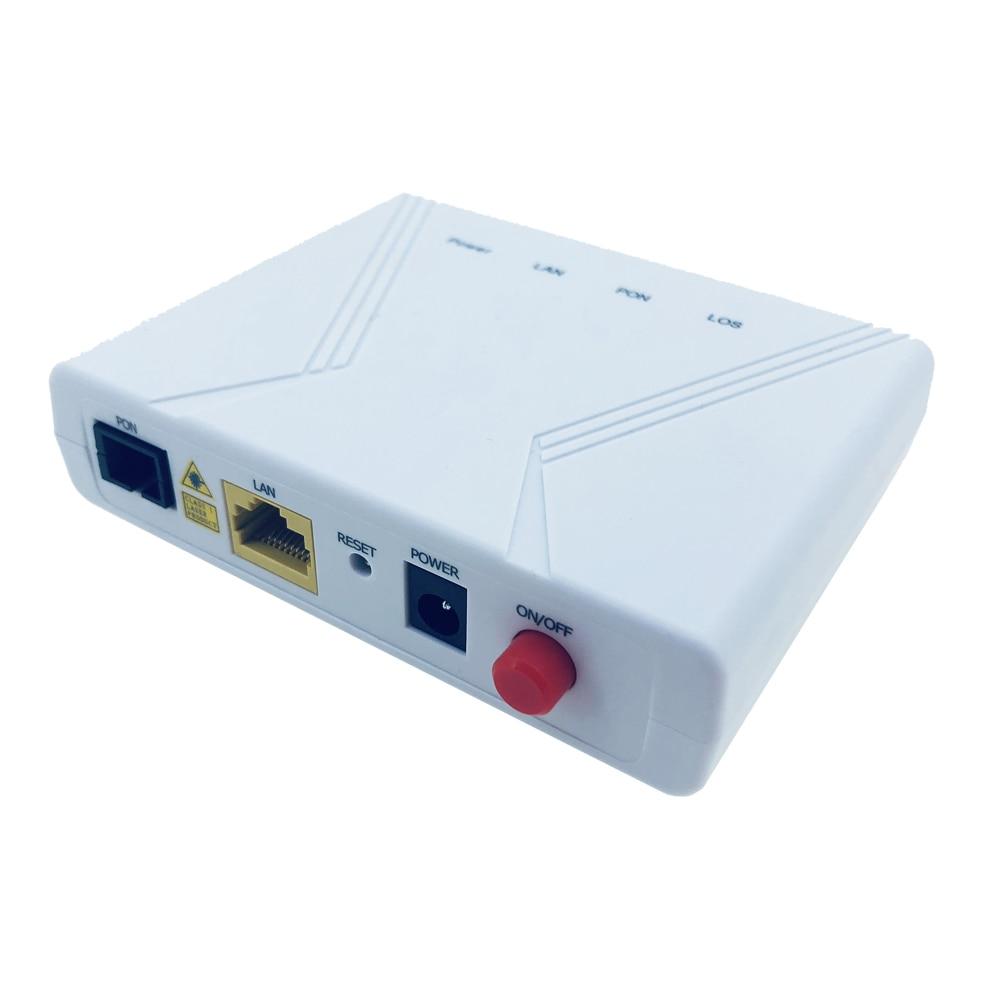 無料市平 6 個 FTTH Epon ONU ONT シングル 1 5gbps LAN 1 PON ポート hign 高速データ転送互換性さまざまな OLT プラットフォーム  グループ上の 携帯電話 & 電気通信 からの 光ファイバ機器 の中 2
