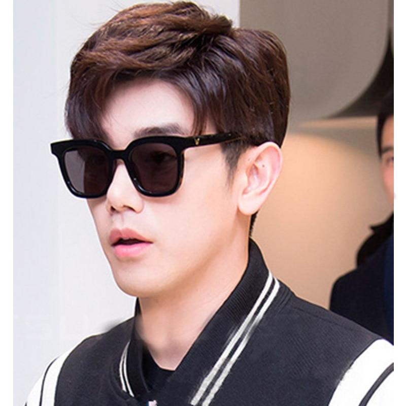 Frauen Luxus V Marke Designer Fashion Unisex Sonnenbrille Hight Qualität Spiegel Männer Koreanische Sonnenbrille Männliche Brillen Für Männer Frauen