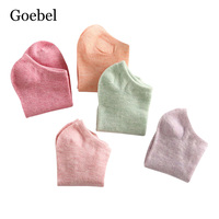 Goebel Woman Boat Socks Comfortable Simple Short Tube Socks For Girls Candy Color Casual Ladies Summer