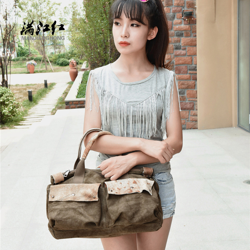 Здесь продается  Manjianghong Vintage Canvas women
