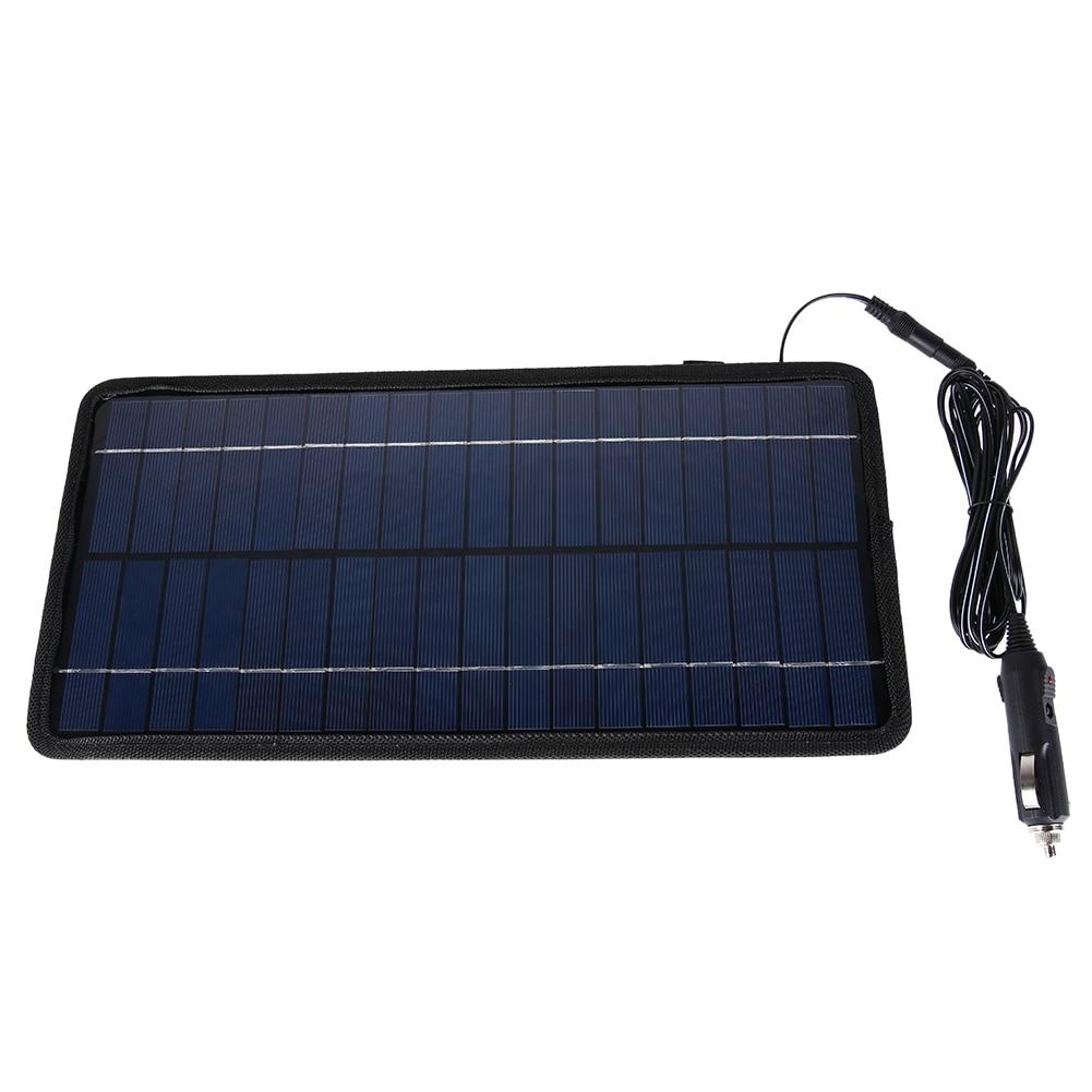 12V 8.5W Monocrystalline Silicon Solar Panel Battery Charger Portable Solar Panel Battery Charger for Car for Car Boat