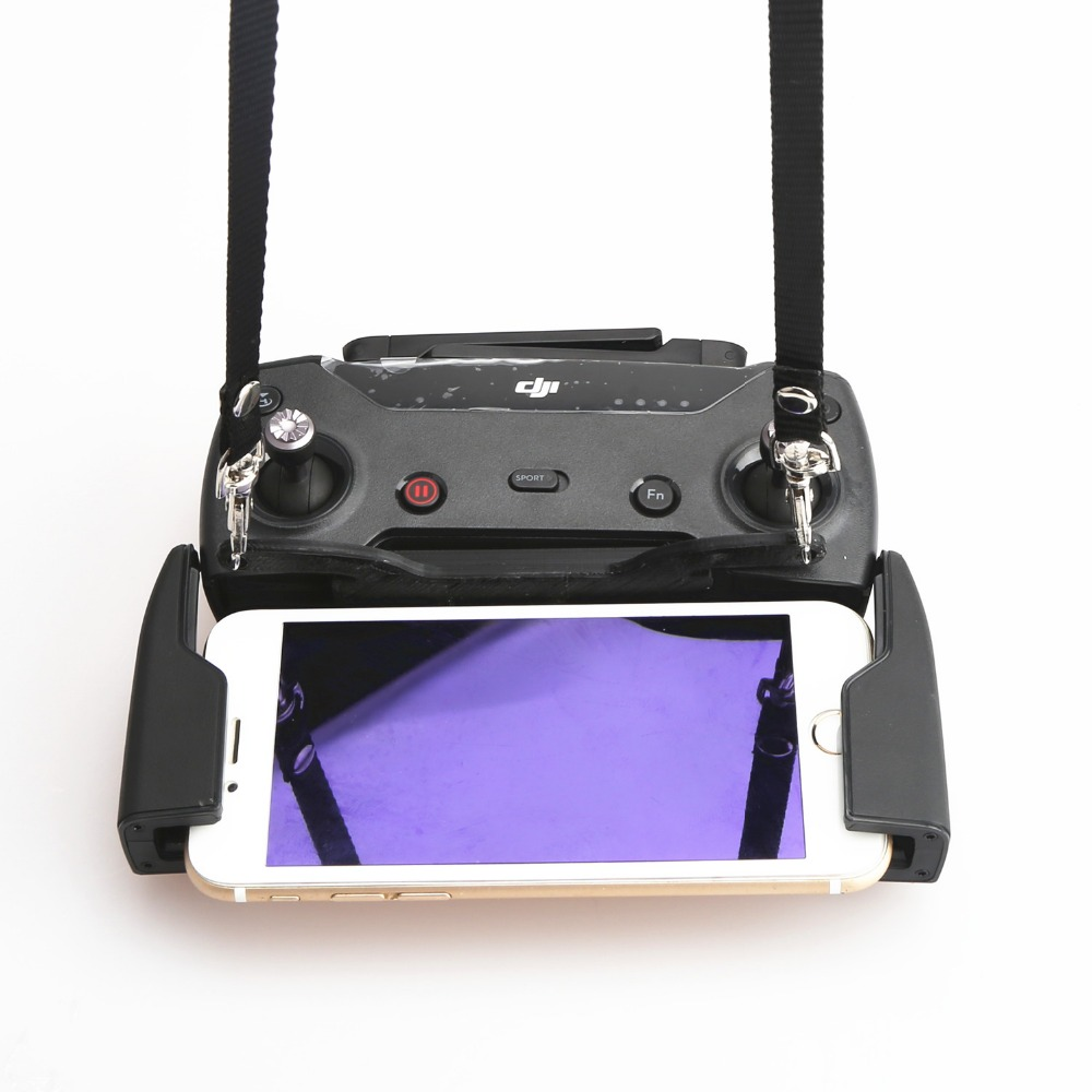 3D Printed Remote Controller Dual hook Bracket Buckle Strap Sling Lanyard Won t Block Screen for