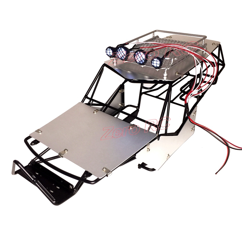 1 10 Scale Rc Axial Wraith Metal Roll Cage Frame Body With