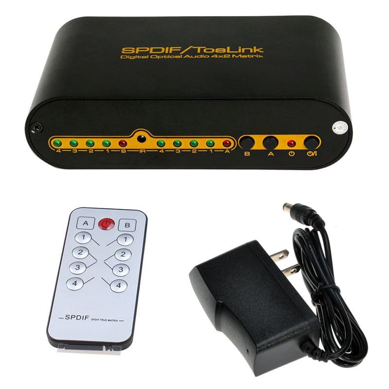 SPDIF TOSLINK Digital Optical Audio Matrix us