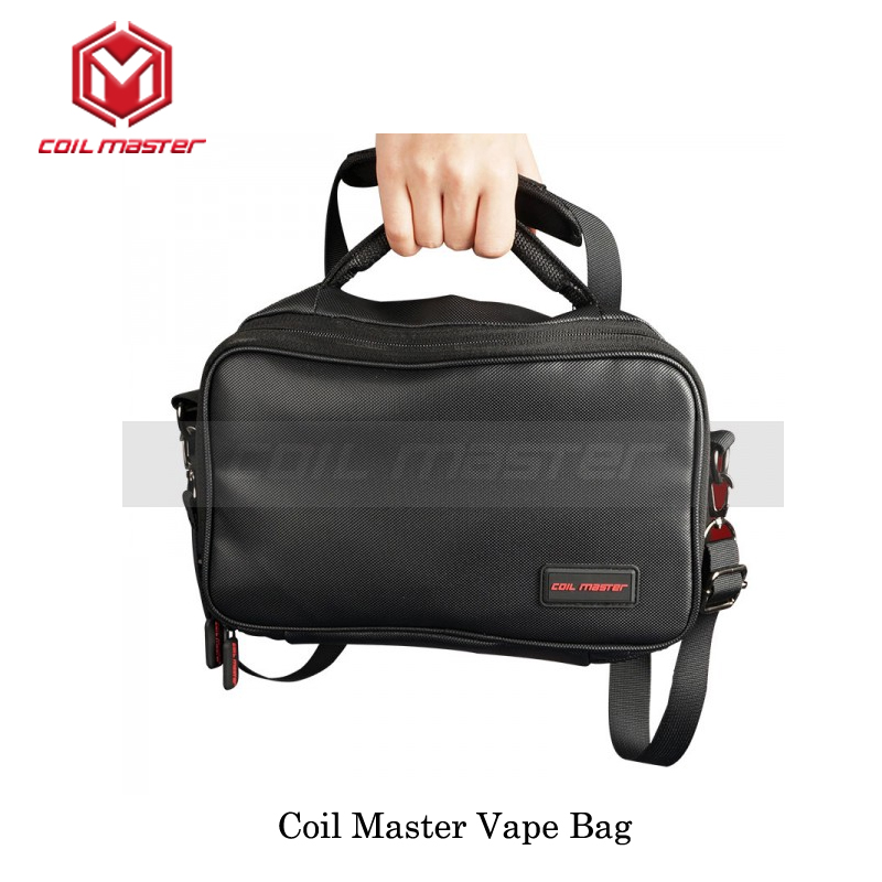 Elecrtonic Cigarette Device Original Coil Master Vape Bag Fits with Vape Stuffs Handle Vape Bag For Box Mod Vape Tank VaporizerElecrtonic Cigarette Device Original Coil Master Vape Bag Fits with Vape Stuffs Handle Vape Bag For Box Mod Vape Tank Vaporizer