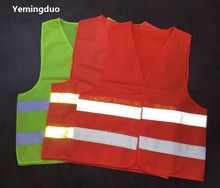High quality Warning reflective safety vests for working in rainy day road traffic cleaning reflective vest