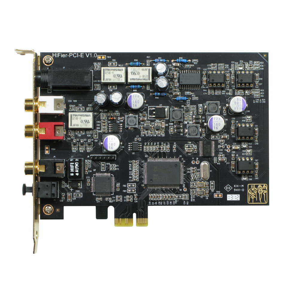 TEMPOTEC Serenade PCI-E Advanced interface PCI-E Sound Card HIFI 2.0 Integrated Headphone Amplifier tempotec serenade pci e advanced interface pc hifi sound card integrated headphone amplifier