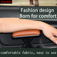 Leder Auto Fahrersitz Links Hand Arm Armlehne Pad Für Audi A3 A6 C5 C6 VW Polo Toyota Corolla renault Dacia Duster Lada Vesta