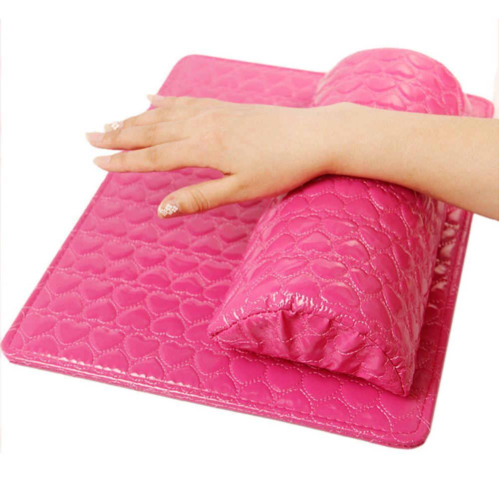 Pu Leder Hand Kissen Kissen Und Pad Rest Nail Art Arm Rest Weichen Schwamm Halter Maniküre Werkzeug Schönheit & Gesundheit Handauflagen