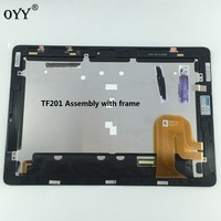 HSD101PWW2 LCD Display Screen Touch Screen Digitizer Assembly With Frame For Asus Transformer Pad TF201 TCP10C93