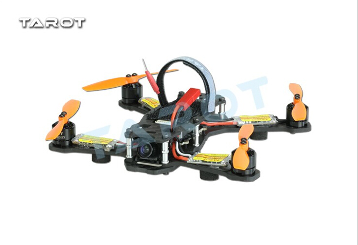 Tarot Racing Quadcopter TL150H1 150mm 4-Axis Carbon Fiber Quadcopter Aircraft with Camera Motor ESC Propeller Combo  F18648 tarot tl68b14 6 axis aircraft hexcopter fy680 fy650 inverted battery rack ship with tracking number