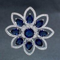 5A Cubic Z Irconiaดาวสีฟ้าดอกไม้
