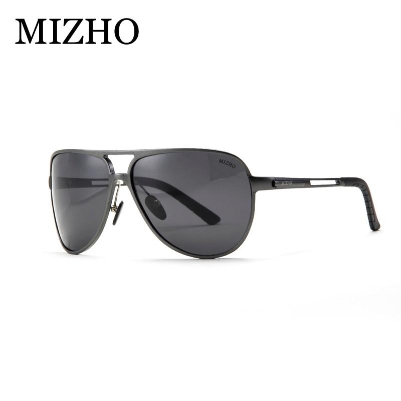 aluminum-magnesium Polarisierte Sonnenbrille Herren Tag und Nacht Shades Outdoor Sports Driver 's Night Vision Gläser, silber