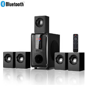 Speaker-System Touch-Panel Remote-Control Dolby Surround-Sound Bluetooth Usb--Sd--Fm-Radio