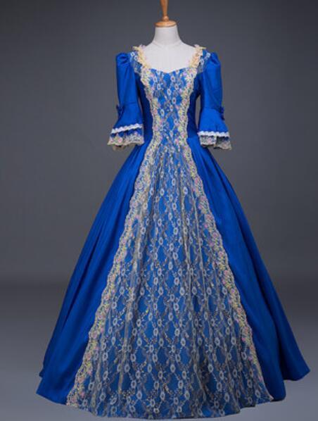 2018 new hot sales XXXL  XXXXL XXXXXL  XXXXXXL Custom Victorian prom vintage Embroidered evenning party long gowns maxi Dresses