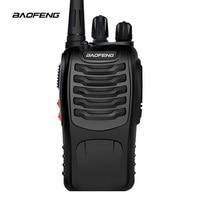 שתי דרך רדיו 2 PCS Baofeng BF-888S מכשיר קשר UHF שתי דרך CB 888s הרדיו הנייד Baofeng רדיו פנס למרחקים ארוכים עם אפרכסת (5)