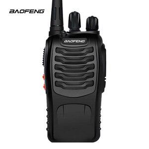 Image 2 - 2 pcs baofeng BF 888S 워키 토키 uhf 라디오 baofeng 휴대용 라디오 communi니 케 이터 5w 전원 400 470 mhz pufeng
