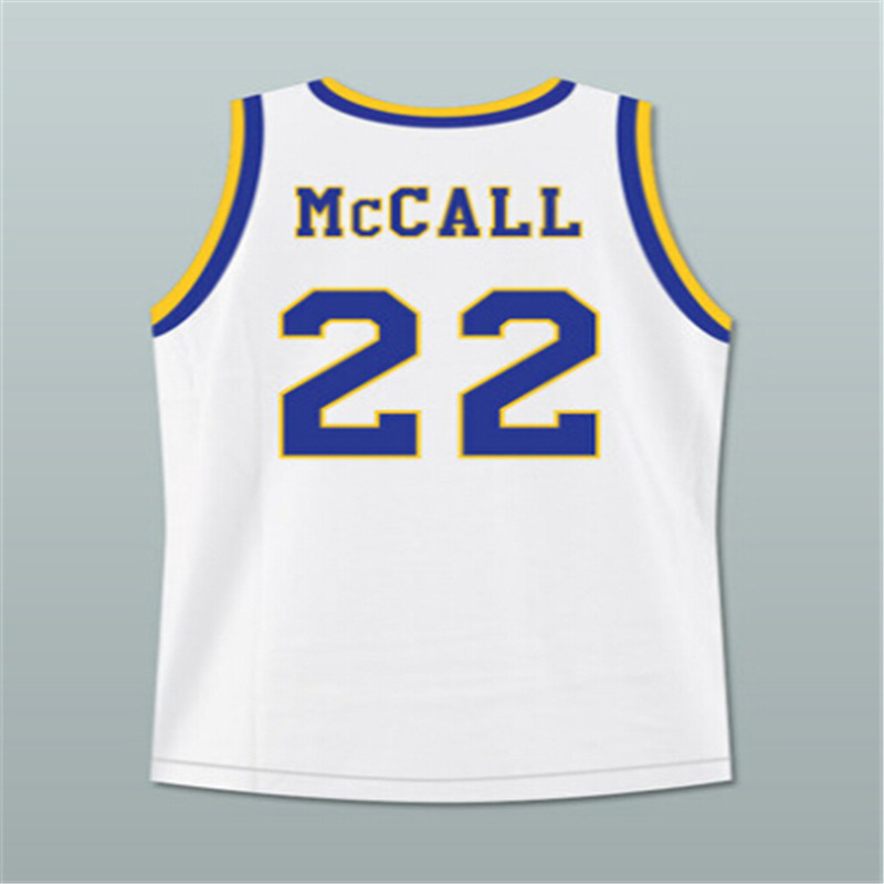 ce06c7bee0e6 Omar Epps Quincy McCall 22 Crenshaw High School Basketball Jersey Love and  Basketball