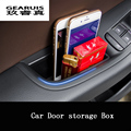 For 2009-2016 A4 B8 A5 Q5 audi door handle storage box sline car organizer stowing tidying accessories container Refit