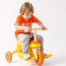 Kinderen Opbergdoos Driewieler Jongens en Meisjes Rijden op Auto 'S voor Kinderen Kind Wandelaar Auto Gleed Driewieler Kinderwagen Drie Wielen fiets